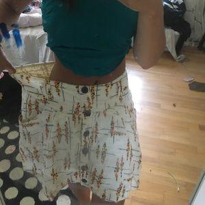 free people skirt medium